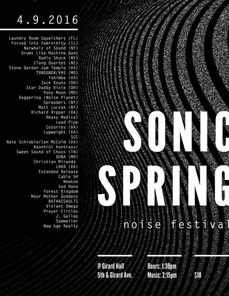 Sonic Spring Noise Festival 2016